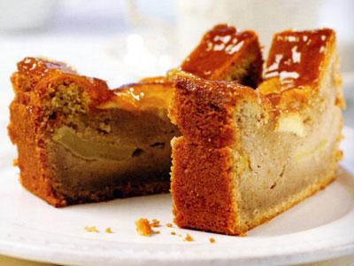 Sour Cream Cinnamon Coffee Cake Loaf