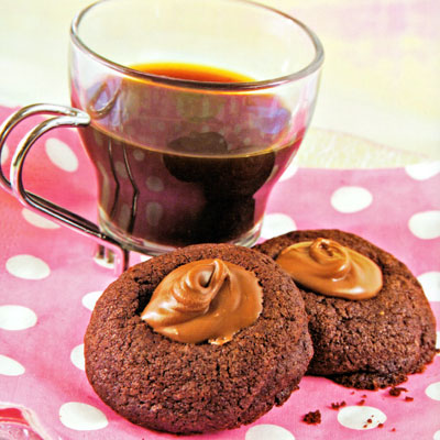 Chocolate Puddle Cookies Recipe – All Baking and Desserts ...