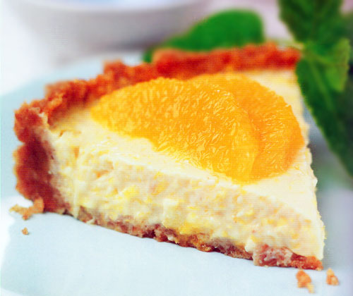 This frozen pie is a wonderful way to get your daily dose of vitamin C ...